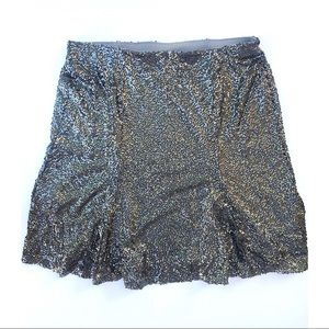Lane Bryant Sequin Skirt